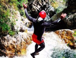 Canyoning sul Lago di Como e in Val d'Intelvi